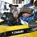 #55 田崎貴英選手、ガレージよりコースへ挑む
