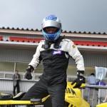 コースアウトから、意地の復帰。3位の#55 田崎貴英選手