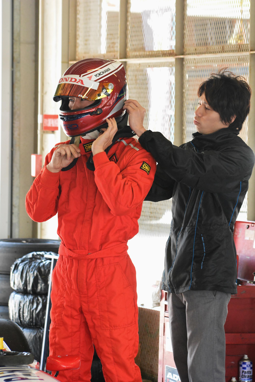 #28 吉元薫選手は、今回兄の陵選手にアドバイスを受ける