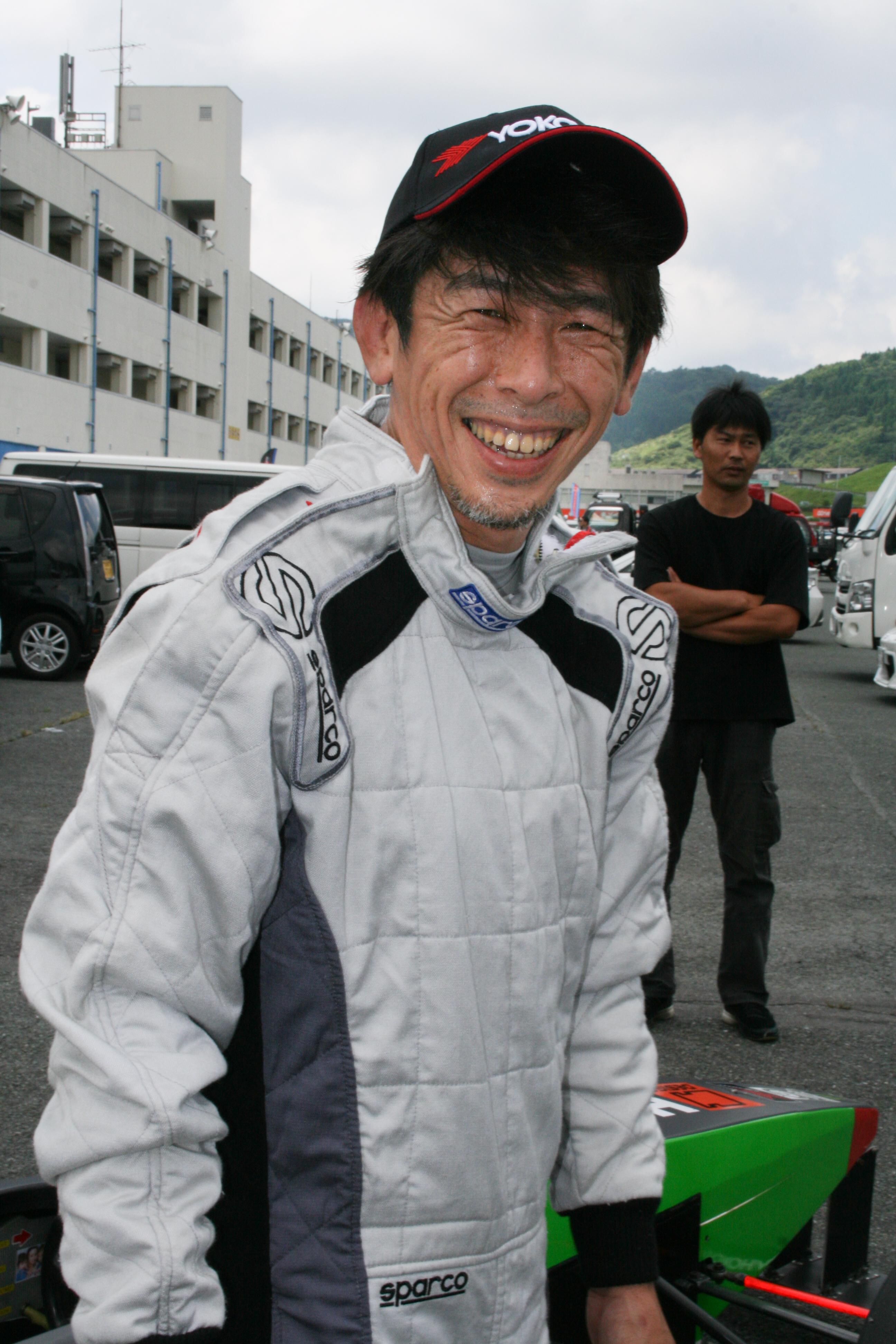 15.2位 川地欽也選手